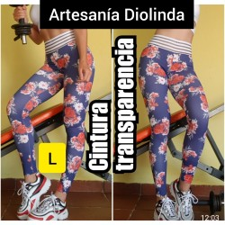Leggings sublimados.